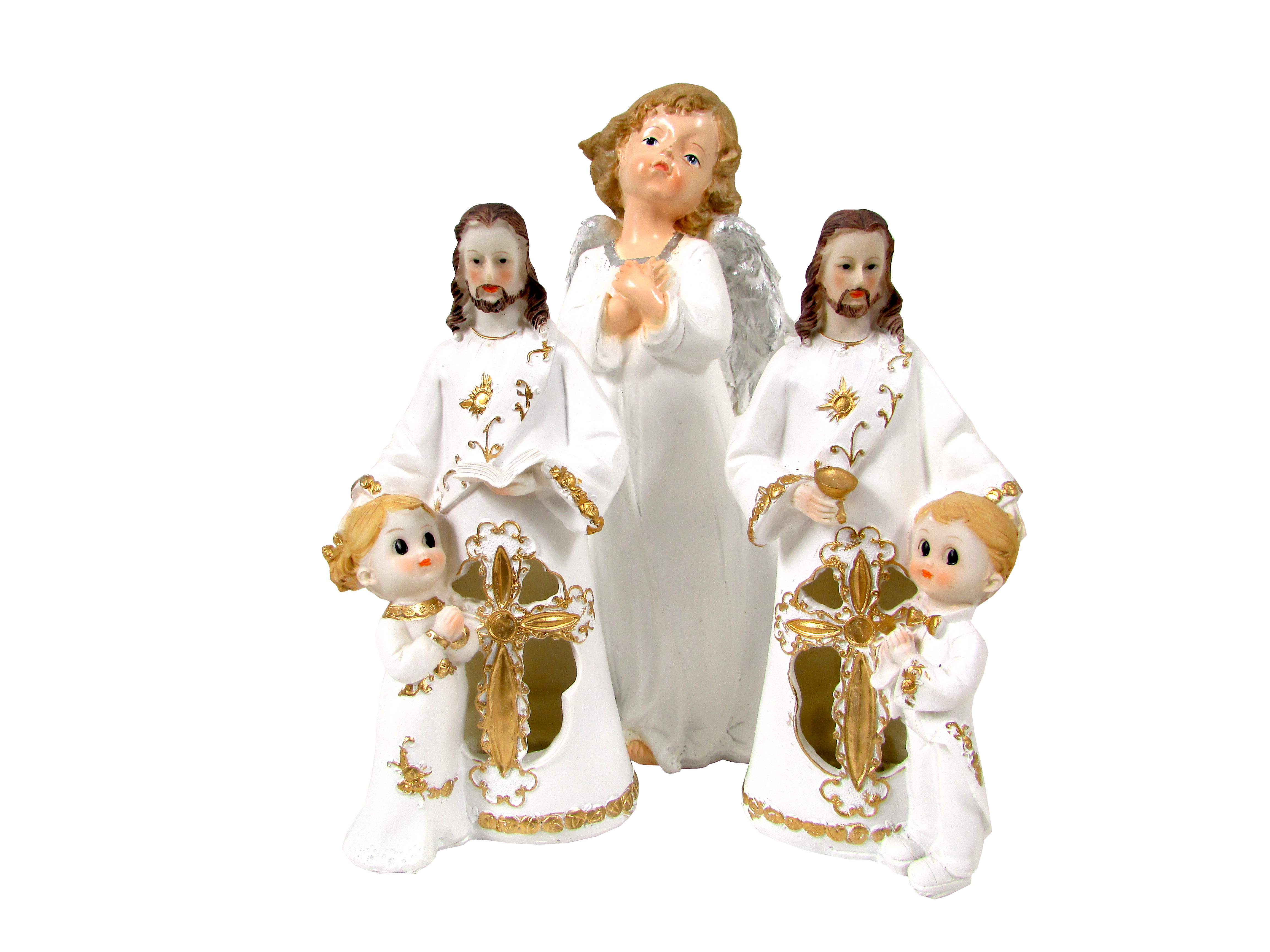 Angel Figurines First Communion Decoration