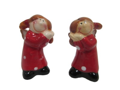 cc46165 Angel Figurine - Salt Cellar & Pepper Cellar