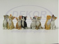 4038 Animal Figurines cats